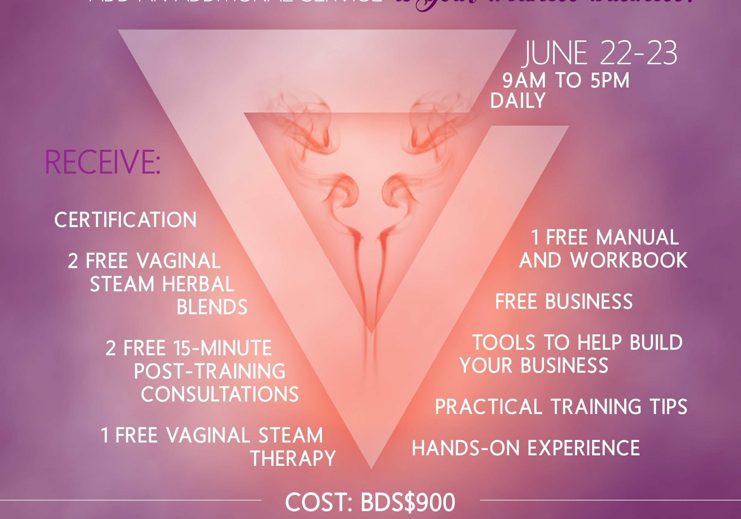 WoB_VSteamTherapistCertWorkshop_Flyer_JUNE22_23-01